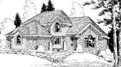 Traditional Style House Plans Plan: 10-907