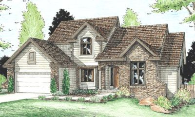 Traditional Style Home Design Plan: 10-908
