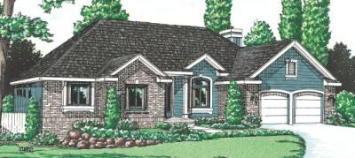 Traditional Style House Plans Plan: 10-912
