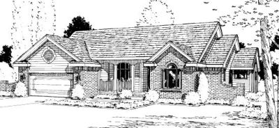 Traditional Style House Plans Plan: 10-913