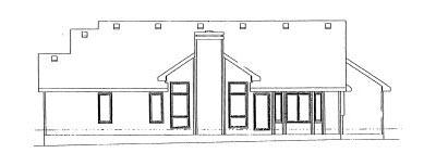 Rear Elevation Plan: 10-913