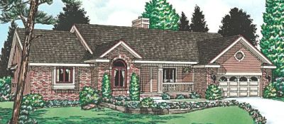Traditional Style Floor Plans Plan: 10-914