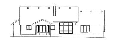Rear Elevation Plan: 10-914