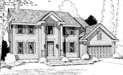 Colonial Style House Plans Plan: 10-915