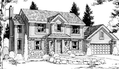 Traditional Style Floor Plans Plan: 10-916