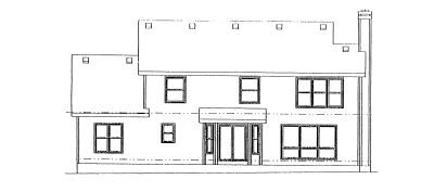 Rear Elevations Plan:10-918