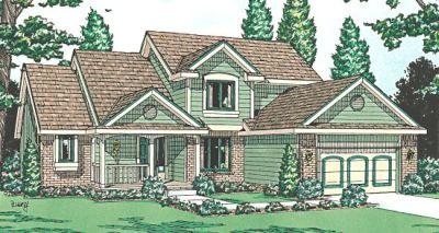 Traditional Style House Plans Plan: 10-919