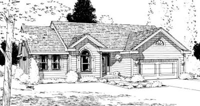Traditional Style House Plans Plan: 10-924