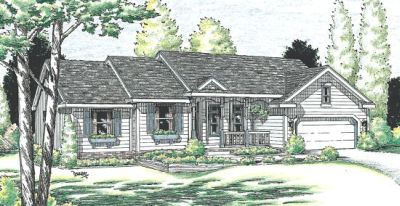 Traditional Style Home Design Plan: 10-925