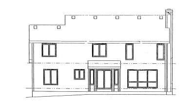 Rear Elevation Plan: 10-926