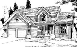 Traditional Style House Plans Plan: 10-926