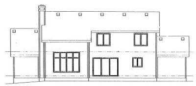 Rear Elevation Plan: 10-931