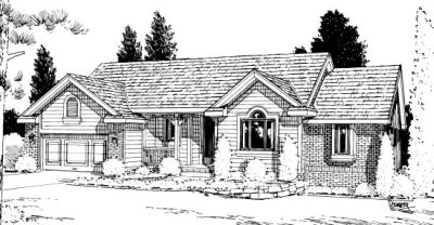 Traditional Style Floor Plans Plan: 10-932