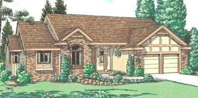 Traditional Style House Plans Plan: 10-933