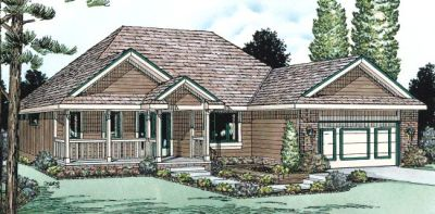 Traditional Style Floor Plans Plan: 10-934