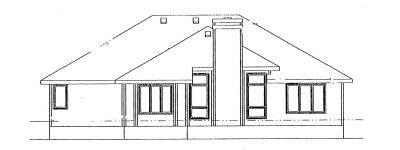 Rear Elevation Plan: 10-934