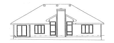 Rear Elevation Plan: 10-935