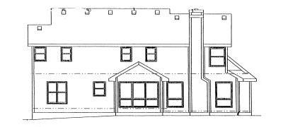 Rear Elevations Plan:10-936