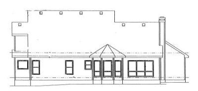 Rear Elevation Plan: 10-937