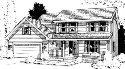 Traditional Style House Plans Plan: 10-939