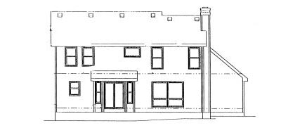 Rear Elevation Plan: 10-939