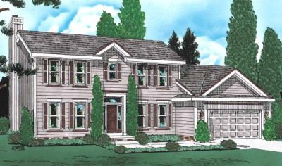 Early-American Style House Plans Plan: 10-940