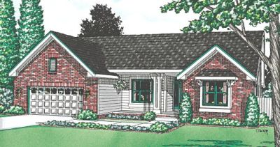 Traditional Style Home Design Plan: 10-944