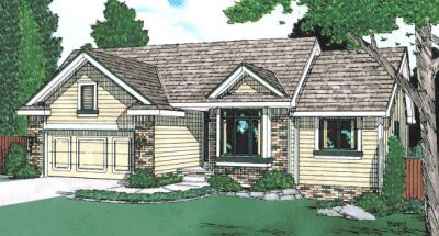 Traditional Style Floor Plans Plan: 10-946