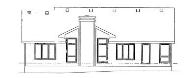 Rear Elevation Plan: 10-946
