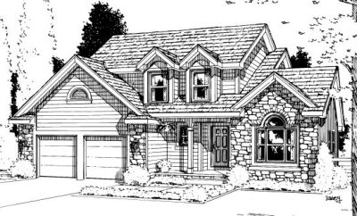 Traditional Style Floor Plans Plan: 10-947