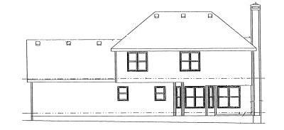Rear Elevation Plan: 10-948