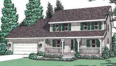 Country Style House Plans Plan: 10-949