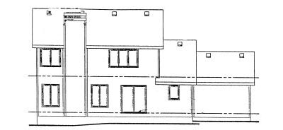 Rear Elevation Plan: 10-949