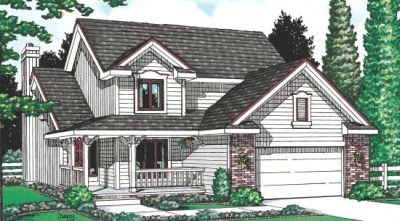 Country Style House Plans Plan: 10-951