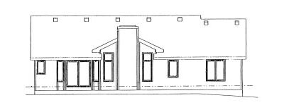 Rear Elevation Plan: 10-953