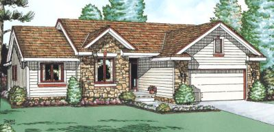 Traditional Style Floor Plans Plan: 10-954