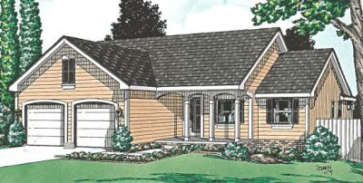 Traditional Style Floor Plans Plan: 10-955