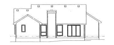Rear Elevation Plan: 10-955