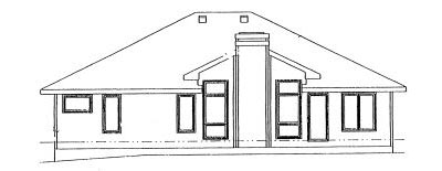 Rear Elevations Plan:10-956