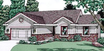 Traditional Style Floor Plans 10-958