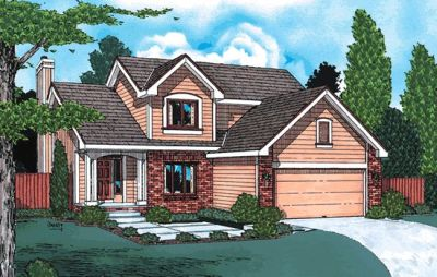Traditional Style House Plans Plan: 10-960