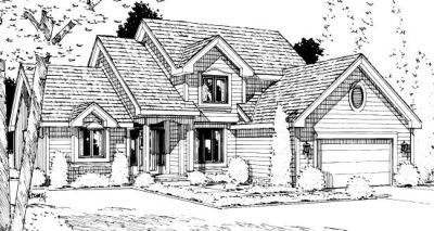 Traditional Style Floor Plans Plan: 10-962