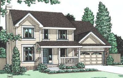 Country Style Floor Plans Plan: 10-964
