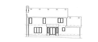 Rear Elevation Plan: 10-965