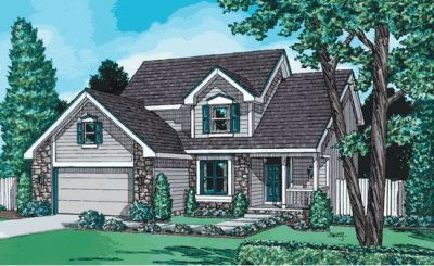 Traditional Style House Plans Plan: 10-966