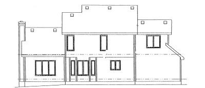 Rear Elevation Plan: 10-969