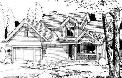 Traditional Style House Plans Plan: 10-970
