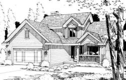 Traditional Style Floor Plans Plan: 10-970