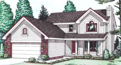 Country Style Floor Plans Plan: 10-971