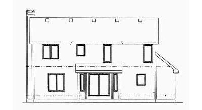 Rear Elevation Plan: 10-972